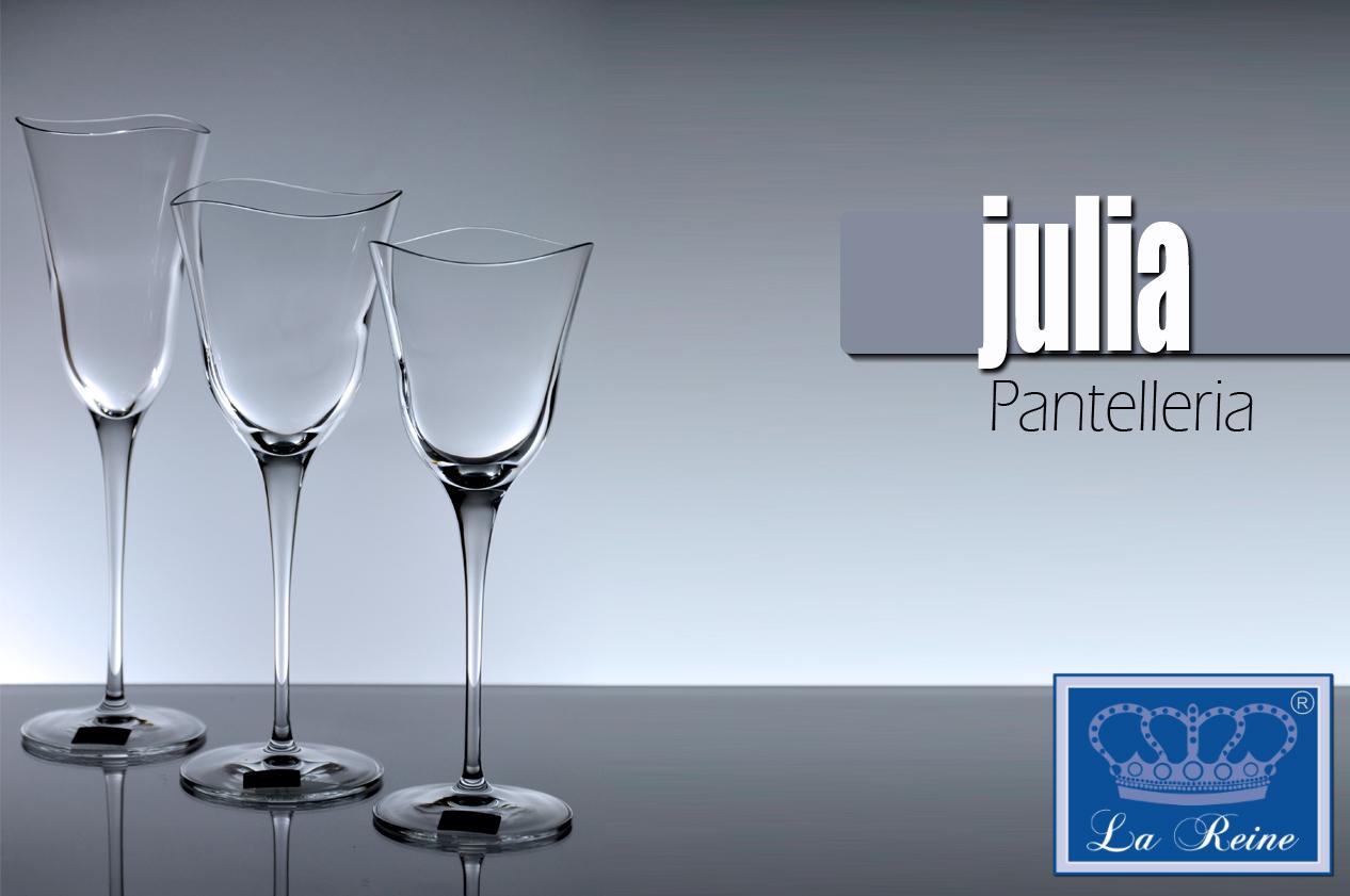 Quota Servizio Bicchieri – 6 Bicch. Vino, 6 Bicch. Flute, Bottiglia
